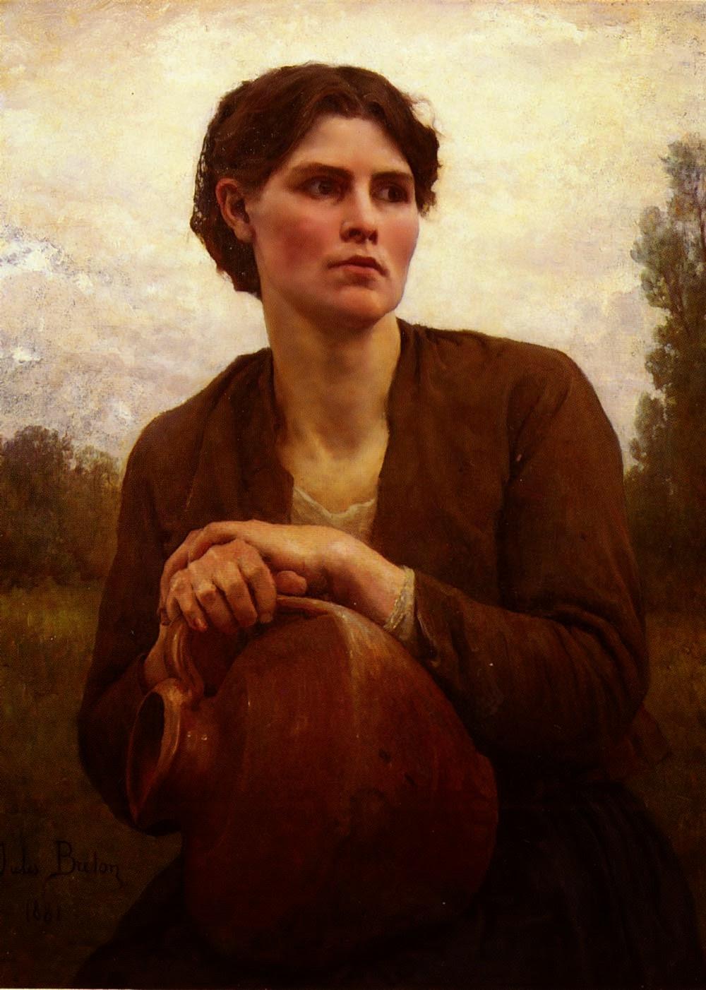 Юлий Бретон / Jules Breton (1827 – 1906), французский художник