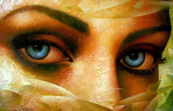 Artur Braginski. Los ojos