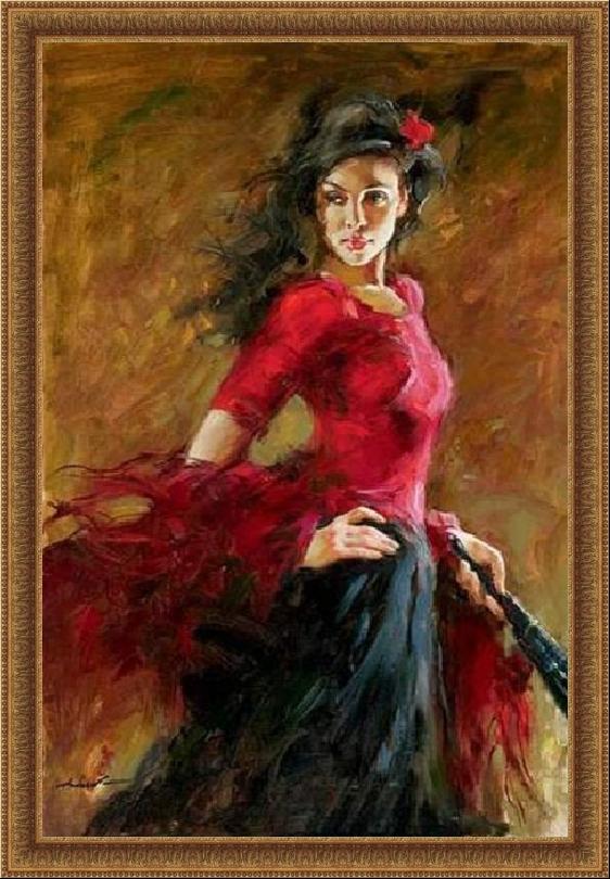 Andrei Atroshenko. La bailadora hermosa