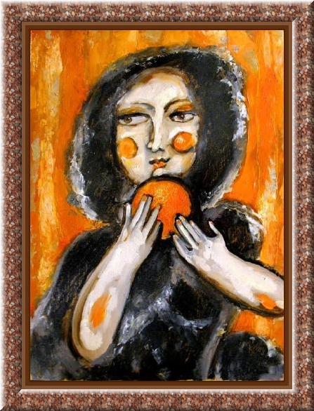 Ирина Кочурова. Девушки и фрукты 3