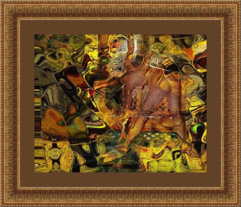 Ксомор Ласзло. Желтая абстракция