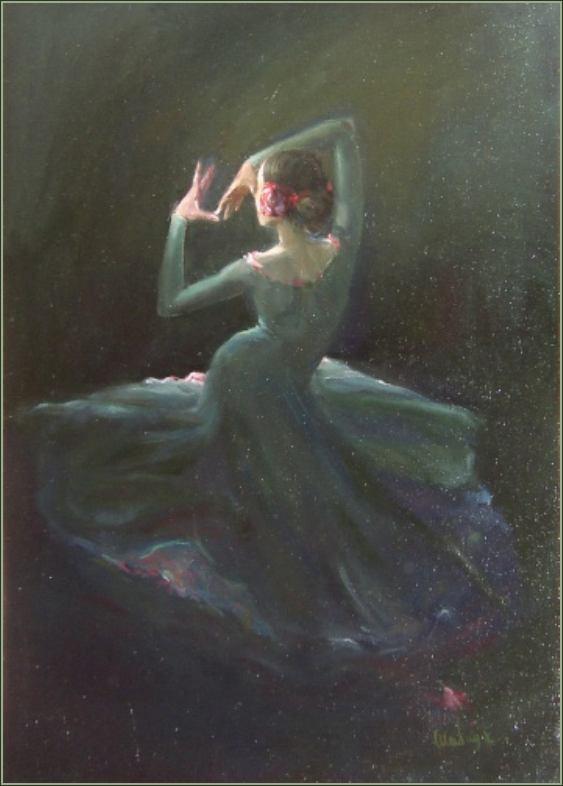 Елена Шабад. Танцовщица