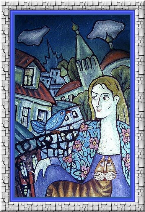 Zoya Yar. El balcón