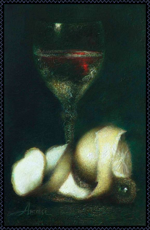 Olga Akasi. El vino y la pintura