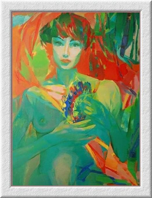 Оксана Гайдукович. Зелёная женщина