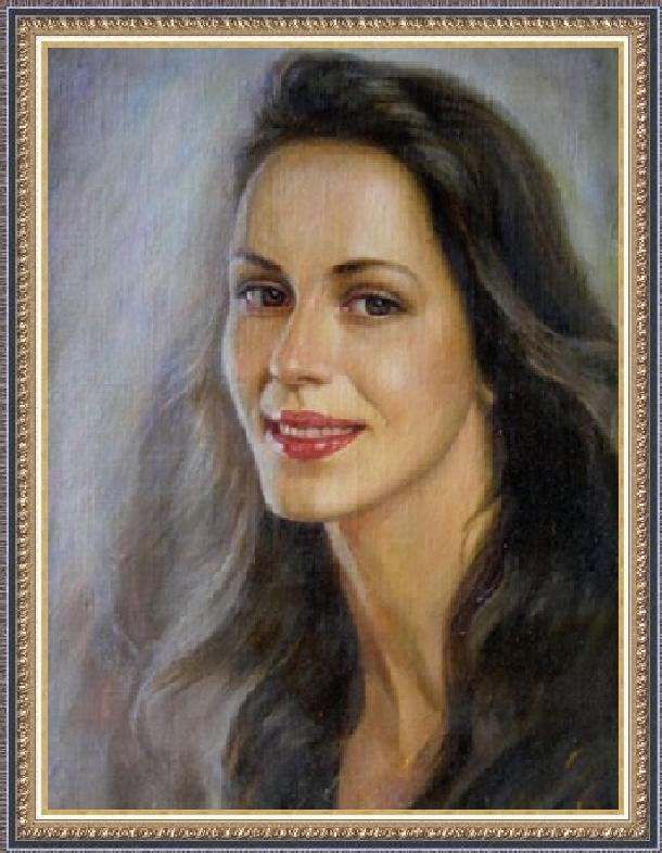 Цико Ярослав. Женский портрет