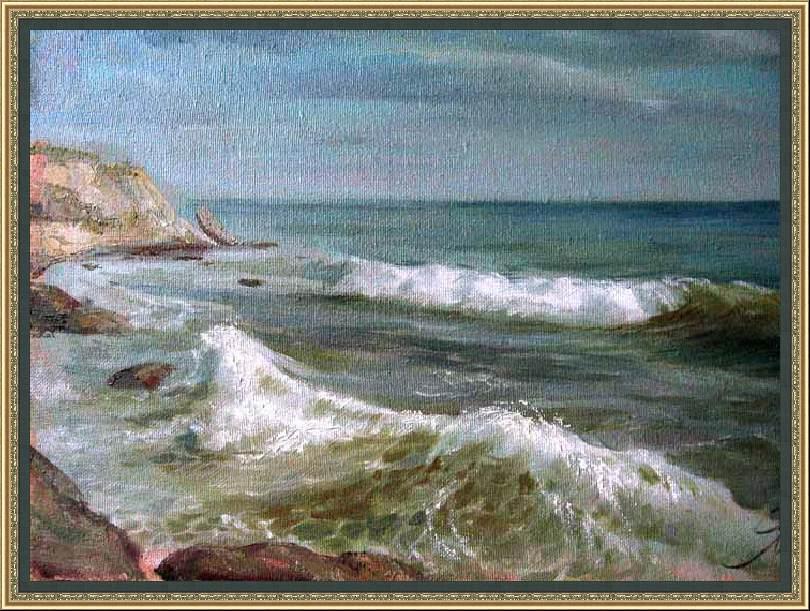 Yaroslav Tsiko. La orilla de la Teodósia
