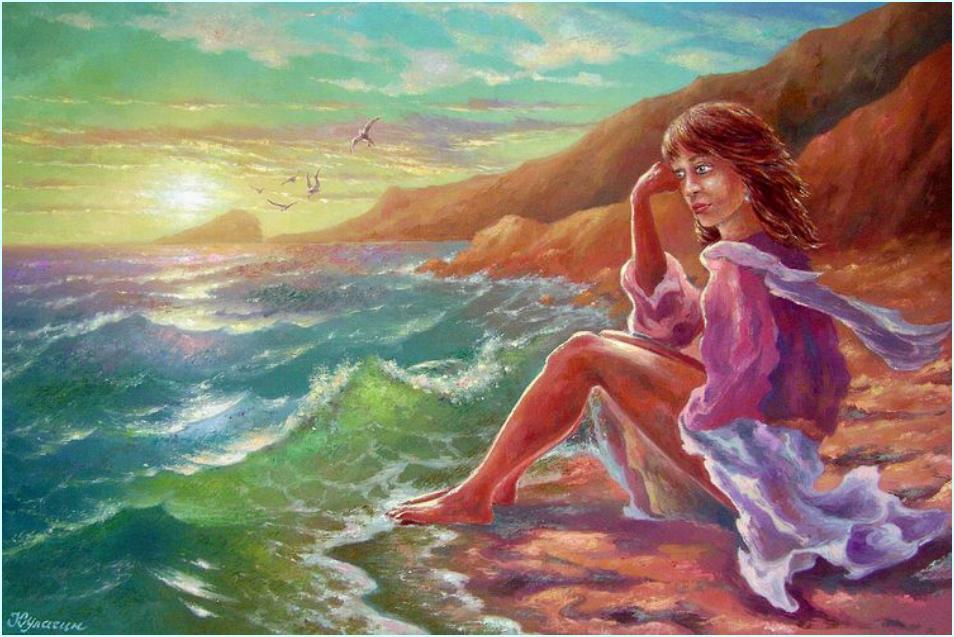 Олег Кулагин. Влюбленная в море