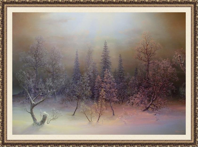 Panin Serguey. El bosque navideño