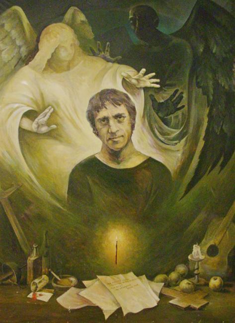 Afanasiev Vladimir. Dos angelos