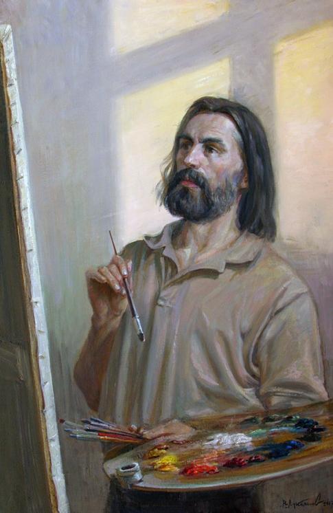 Лукьянов Виктор. Автопортрет