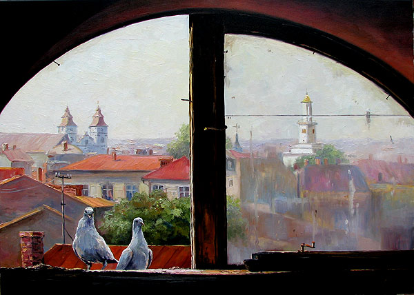 Ropyanik Ígor. La ventana del desván