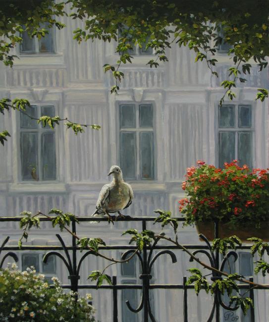 Ropyanik Ígor. El invitado del balcón