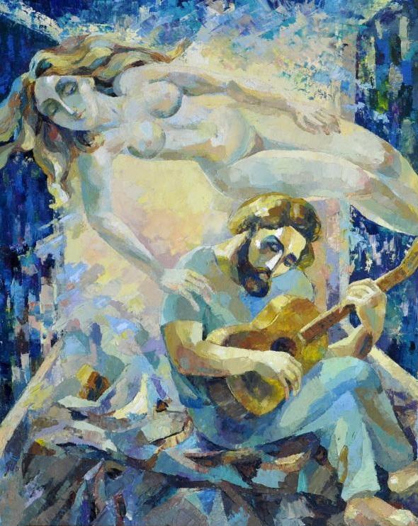 Berezina Elena. El poeta y la Musa