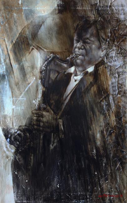 Marina Podgaevsky. La lluvia de oro