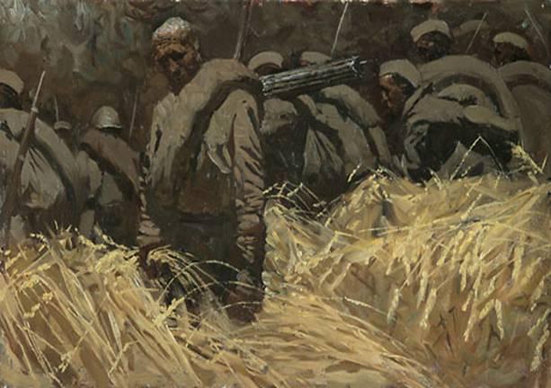 Dmitry Shmarin. El verano de 1941