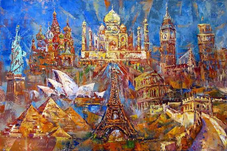 Kolokolov Anton. Las 10 maravillas del mundo