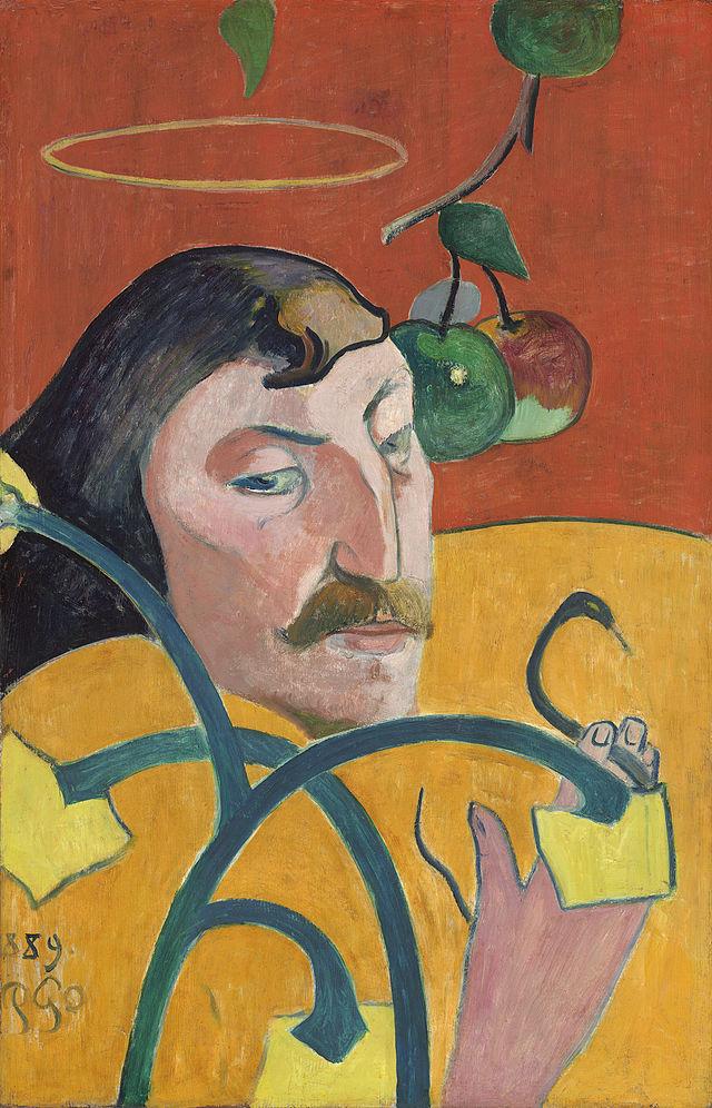 Paul Gauguin. Autorretrato