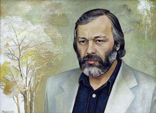 Shayhetdinov Vagiz. El retrato del poeta Denisova