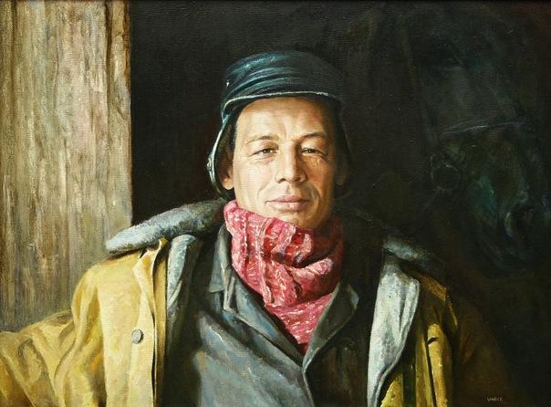 Shayhetdinov Vagiz. El retrato del vecino