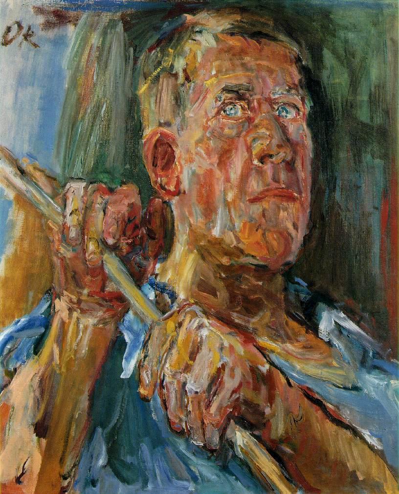 Oskar Kokoschka. Autorretrato