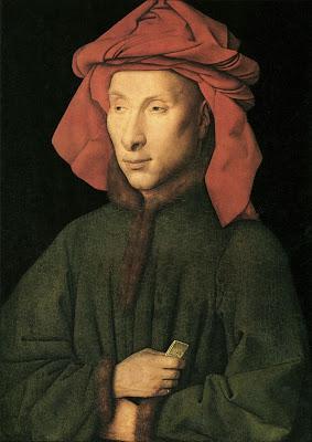 Ян ван Эйк. Портрет Джованни Арнольфини. Или... автопортрет?