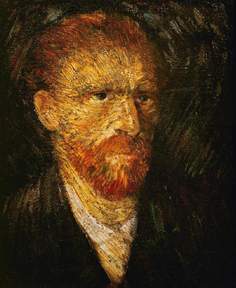 Vincent van Gogh. Autoretrato
