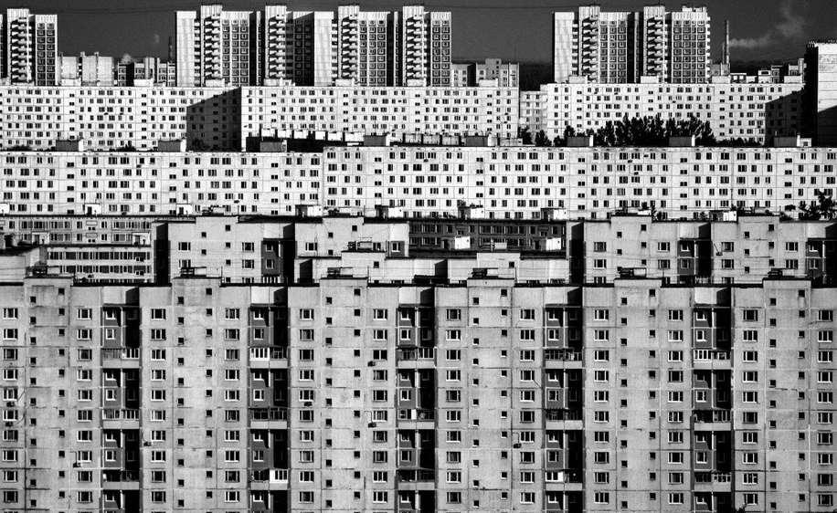 Фото Борис Бочкарёв. Один из районов Москвы
